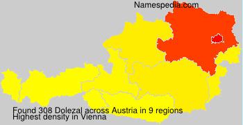 Surname Dolezal in Austria