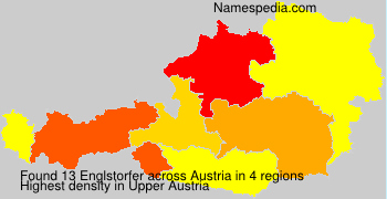 Surname Englstorfer in Austria