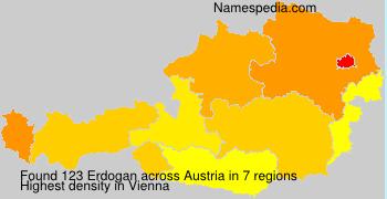 Familiennamen Erdogan - Austria