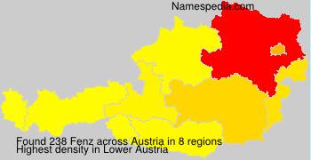 Familiennamen Fenz - Austria