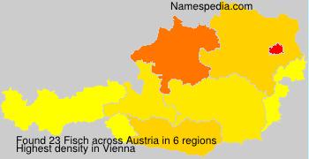 Familiennamen Fisch - Austria