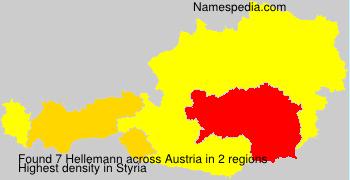 Familiennamen Hellemann - Austria