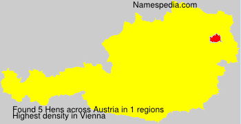 Surname Hens in Austria