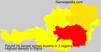 Surname Jansel in Austria