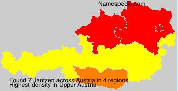 Familiennamen Jantzen - Austria