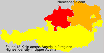 Surname Kisin in Austria