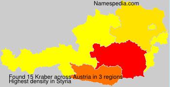 Surname Kraber in Austria