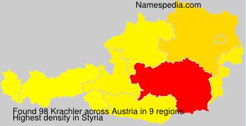 Surname Krachler in Austria