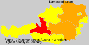 Surname Kracmar in Austria