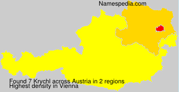 Surname Krychl in Austria