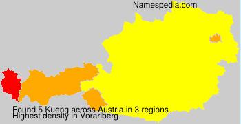 Familiennamen Kueng - Austria