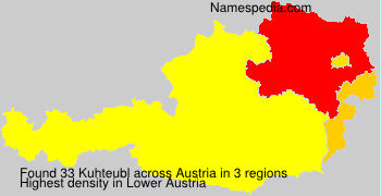 Surname Kuhteubl in Austria