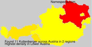Familiennamen Kuttenberger - Austria