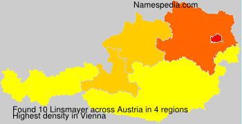 Surname Linsmayer in Austria