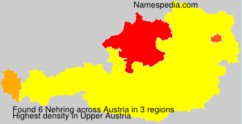 Surname Nehring in Austria