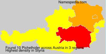 Surname Pichelhofer in Austria