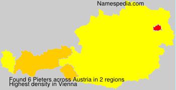 Familiennamen Pieters - Austria