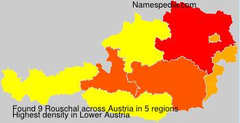 Familiennamen Rouschal - Austria