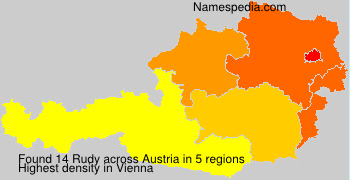 Surname Rudy in Austria