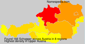 Surname Schopper in Austria