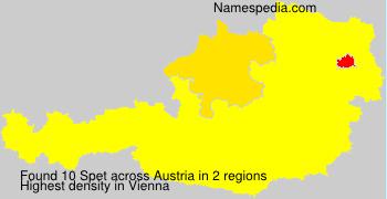 Surname Spet in Austria