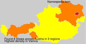 Surname Stawa in Austria