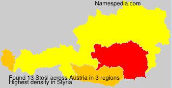 Familiennamen Stosl - Austria
