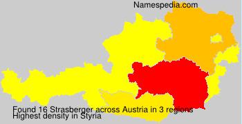 Familiennamen Strasberger - Austria