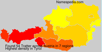 Familiennamen Tratter - Austria