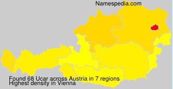 Surname Ucar in Austria