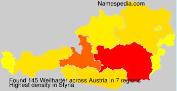 Surname Weilharter in Austria