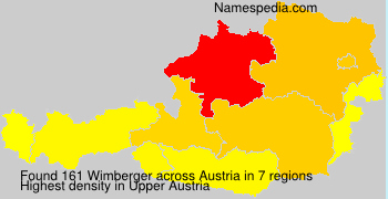 Surname Wimberger in Austria