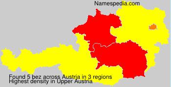 Familiennamen bez - Austria
