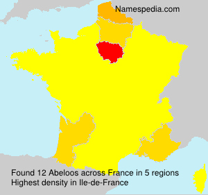 Surname Abeloos in France