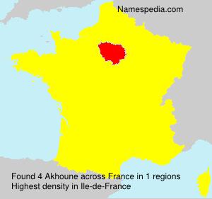 Akhoune