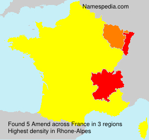 Surname Amend in France