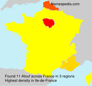 Surname Atouf in France