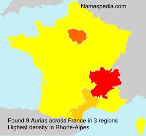 Aurias - France