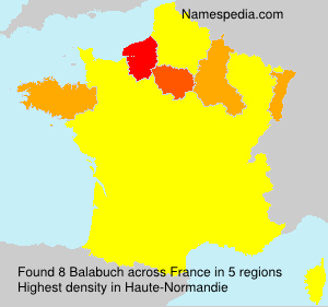 Surname Balabuch in France