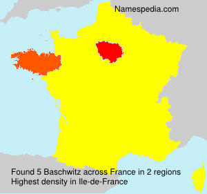 Surname Baschwitz in France