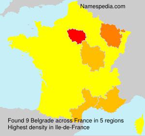 Belgrade - France