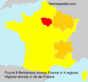 Surname Benlamara in France