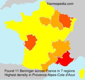 Surname Berringer in France