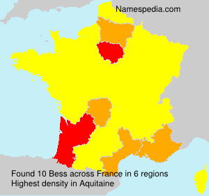 Surname Bess in France