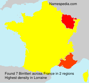 Surname Birritteri in France