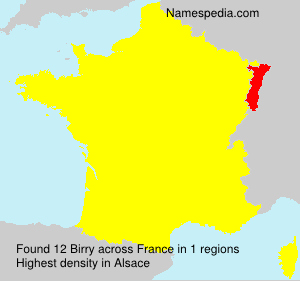 Surname Birry in France