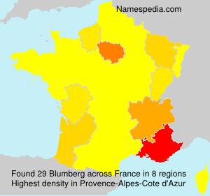 Familiennamen Blumberg - France
