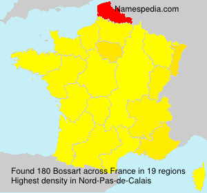 Surname Bossart in France