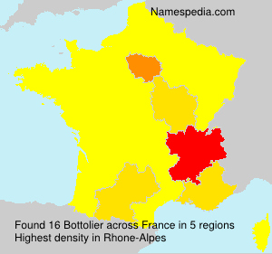 Surname Bottolier in France