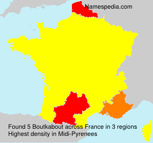 Surname Boutkabout in France